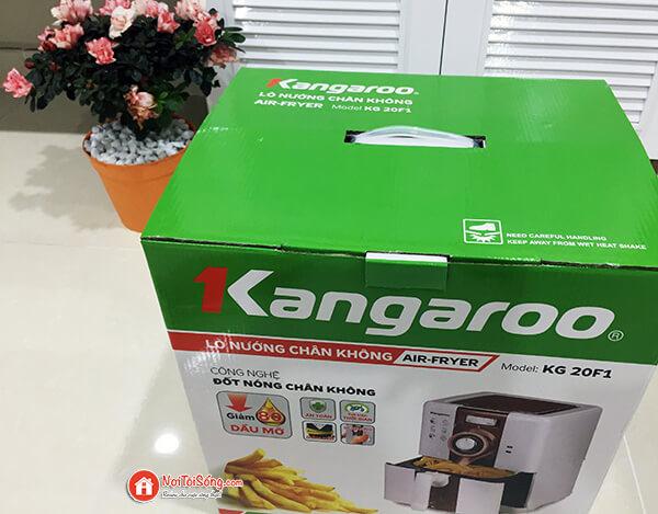 review nồi chiên không dầu kangaroo kg20f1