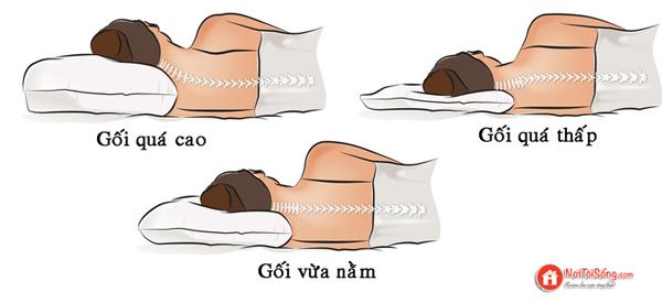 Cách chọn gối ngủ đúng