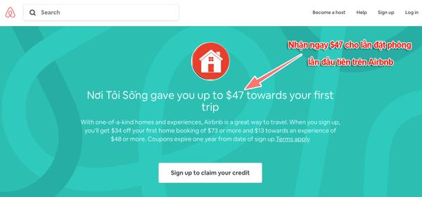 cách đăng ký tài khoản airbnb