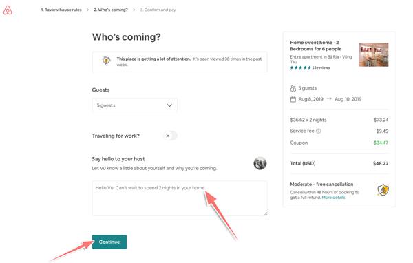 Hướng dẫn đăng ký tài khoản (nhận ngay $47 để book phòng trên Airbnb) 2