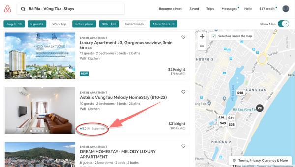 Hướng dẫn đăng ký tài khoản (nhận ngay $47 để book phòng trên Airbnb) 1