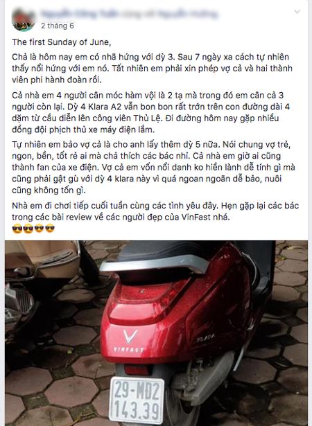 khả năng chuyên trở của xe máy điện vinfast