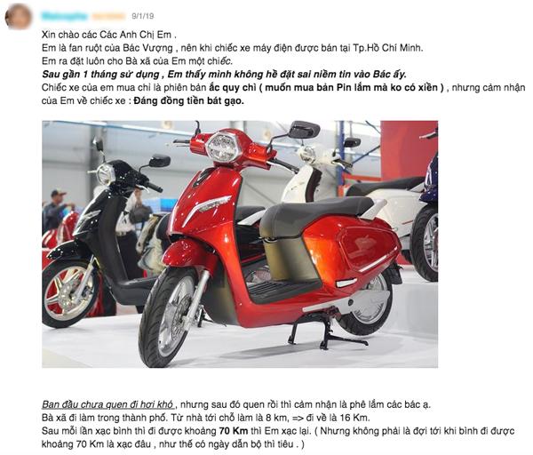 Có nên mua xe máy điện Vinsfast? (Chia sẻ từ người dùng sau gần 1 năm sử dụng) 2