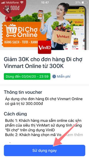 Hướng dẫn cách đi chợ Online VinMart: Đi chợ ngay trên ứng dụng VinID & phòng tránh dịch Covid 1