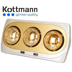 Đèn Sưởi 3 Bóng Hans Kottmann Vàng