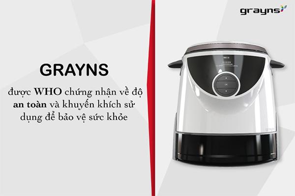 nồi cơm điện tách đường grayns