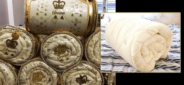 chăn lông cừu crown cao cấp