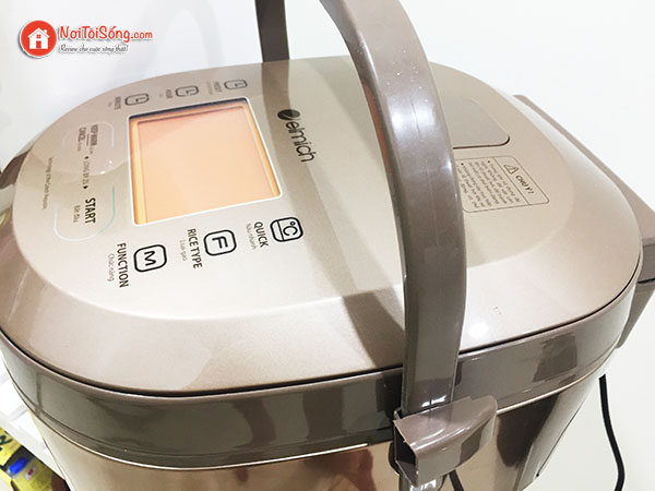 Đánh giá chất lượng nồi cơm điện elmich