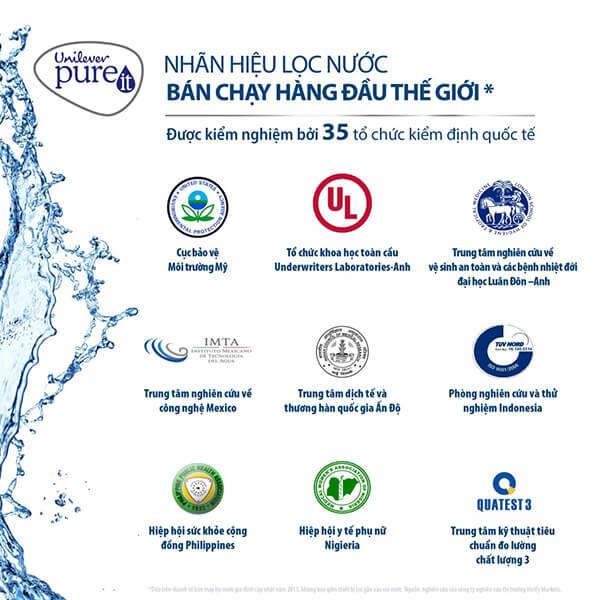 máy lọc nước pureit unilever Excella bán chạy nhất trên thế giới
