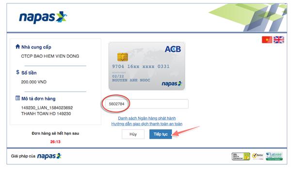 mua bảo hiểm corona online