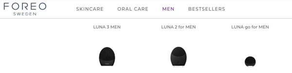 foreo luna for men