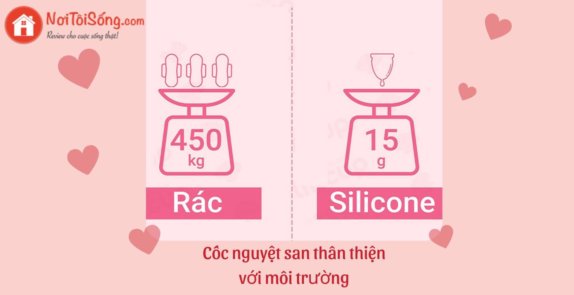 So sánh cốc nguyệt san và tampon, băng vệ sinh - Cái nào thân thiện với môi trường hơn?
