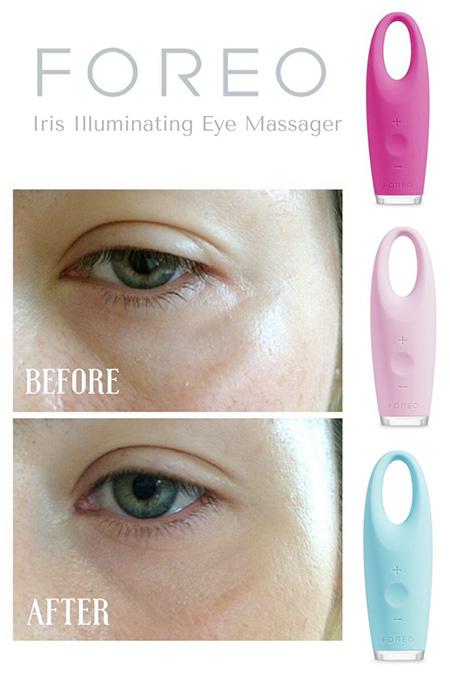 tác dụng của máy massage mắt foreo IRIS