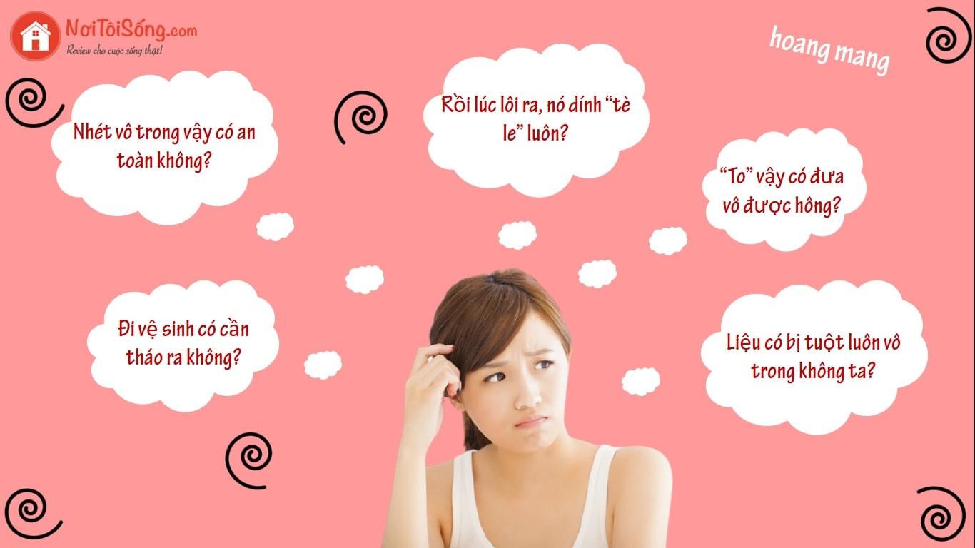 Một số câu hỏi thường gặp về cốc nguyệt san Sibell