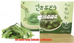 so sánh rong nho sabudo và okinawa loại nào ngon hơn