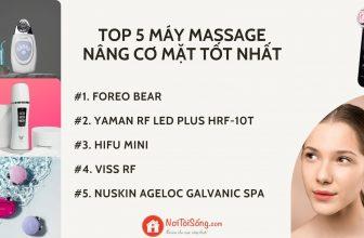 Review top 5 máy massage nâng cơ mặt tốt nhất 2021