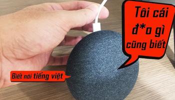 Hướng dẫn cài đặt tiếng Việt cho loa Google Home Mini (100% thành công)