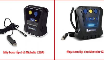 Nên mua máy bơm lốp ô tô mini Michelin 12264 hay 12266?