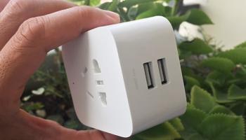 [Review] – Ổ cắm điện thông minh 2 cổng USB Xiaomi kết nối wifi